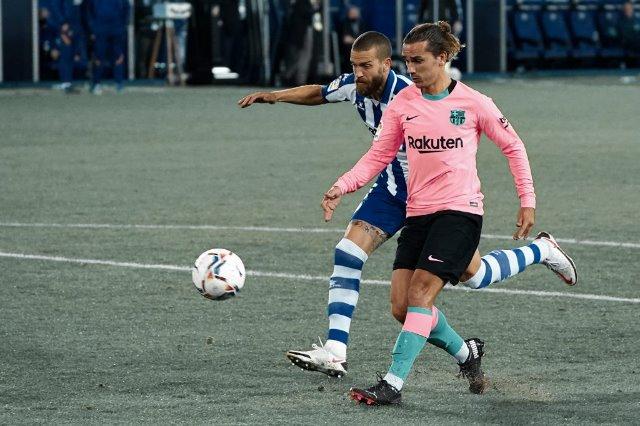 Barcelona ka harruar të fitojë, 1-1 me Alaves