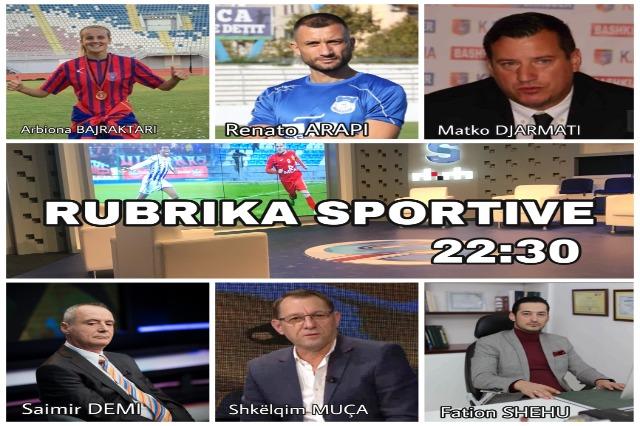 Ndiqni tani emisionin Rubrika Sportive