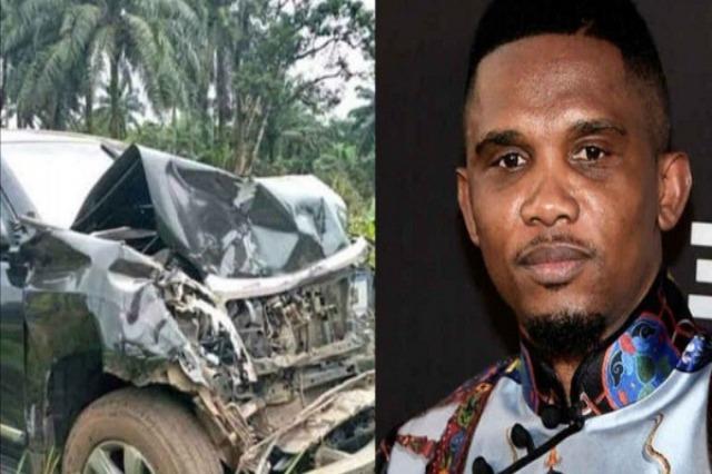 Samuel Eto'o pas aksidentit: Faleminderit Zotit që na nxori jashtë pa dëmtime