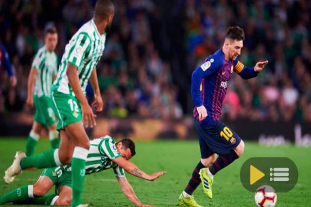 Barcelona gjen fitoren në kampionat, dopietë e Messi-t