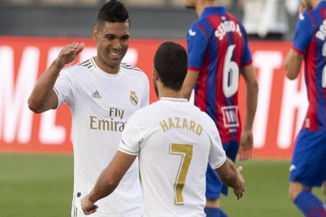 Real, Zidane: Casemiro e Hazard? Janë mirë, duhet ta pranojmë këtë situate