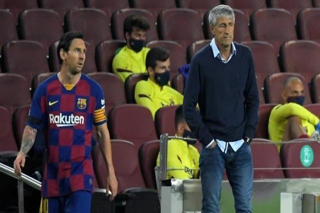 Setien nuk harron: Messi ka një karakter të vështirë për tu menaxhuar