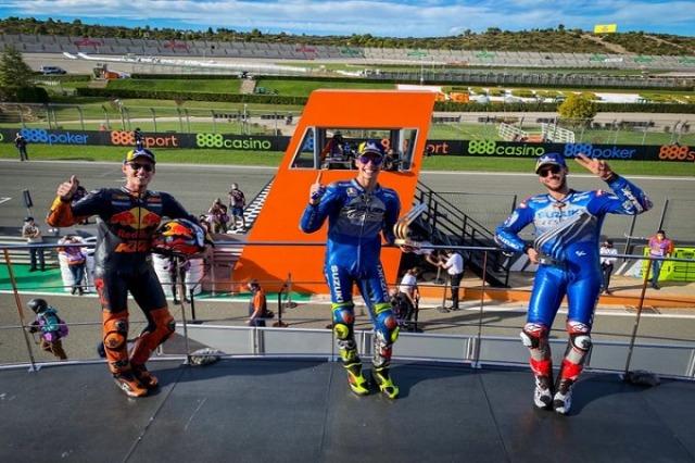 Moto GP, triumfon Joan Mir, prek titullin