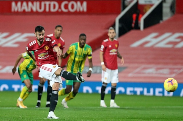Fitorja e Manchester United ka një emër, Bruno Fernandes