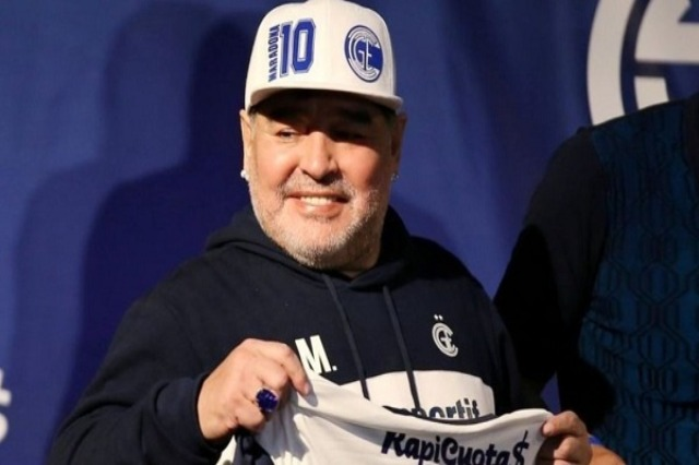 """Maradona, i varur nga alkoli"""