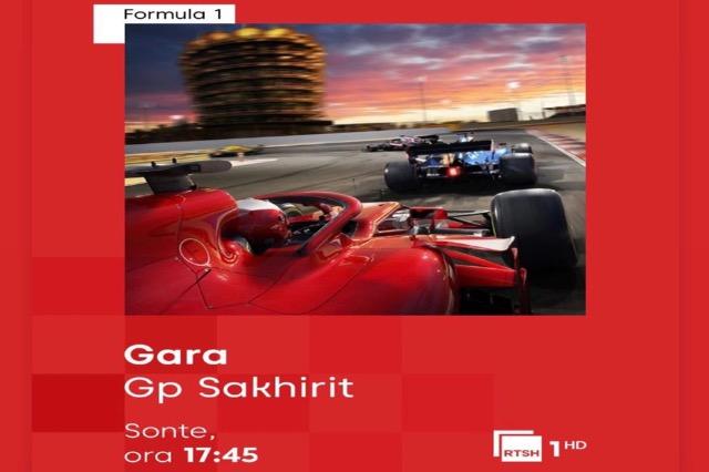Formula1 / GP SAKHIR. Ora 17:45 në RTSH 1 HD
