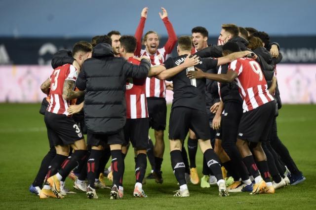 Bilbao rrëmben Superkupën, Messi fiton… një karton të kuq