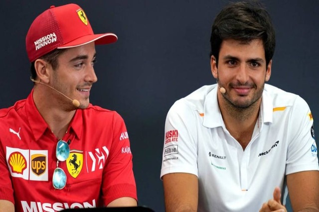 Ferrari, Sainz: Leclerc, një pikë referimi e shkëlqyer