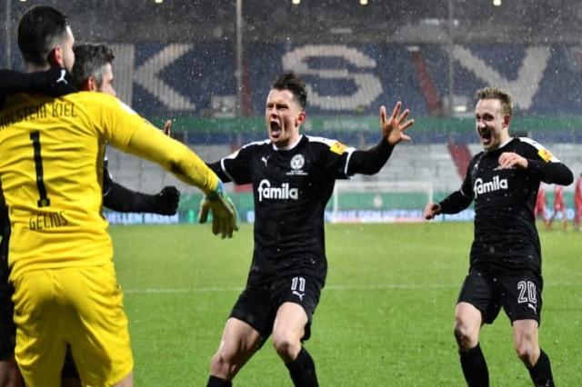 Kupa e Gjermanisë: Bayern e bën dramë, eliminohet nga Holstein Kiel