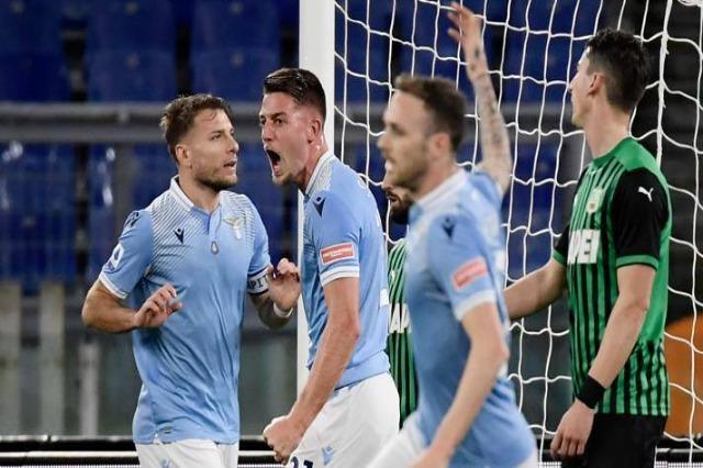 Milinkovic dhe Immobile e bëjnë Lazion të fluturojë: fitorja e katërt radhazi