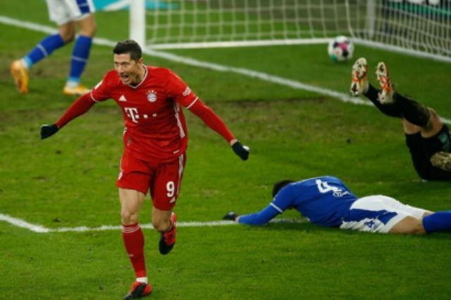 Bayern, Müller-Lewa show: poker në shtëpinë e Schalke