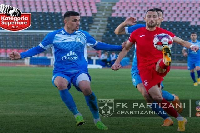 """""""Fair Play"""" në Kukësi-Partizani, Pregja: Nuk ka gabim të arbitrit"""