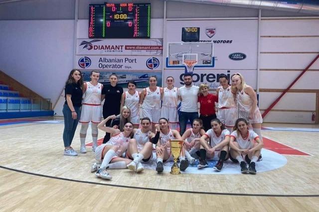 Basketboll Femra/Partizani fiton Kupën e Shqipërisë