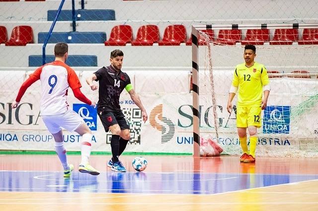 Futbolli i Sallës/Shqipëria, tjetër humbje ndaj Kroacisë