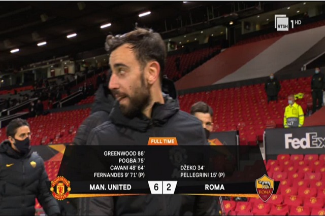 Manchester United shumë i forte, Roma reziston një pjesë loje