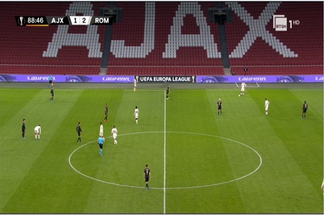 Liga e Europës: çerekfinalet e kthimit, Roma-Ajaks në RTSH 1