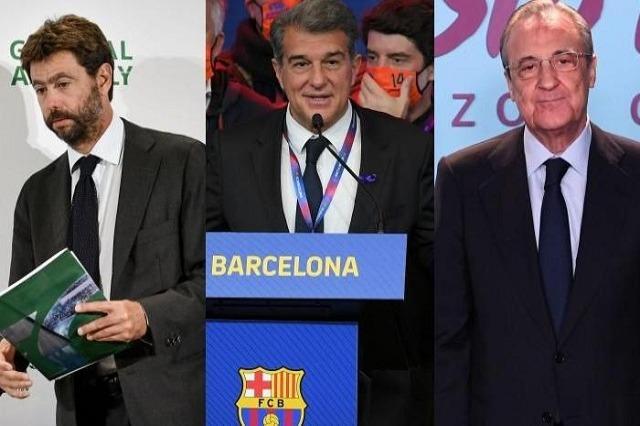 Superliga: Real, Juve dhe Barça kërcënojnë dezertorët