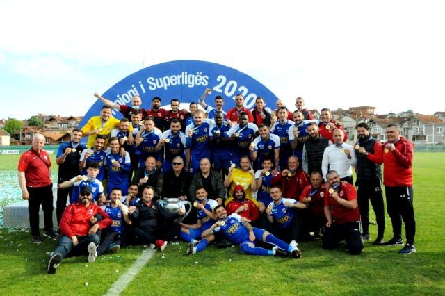 Superliga e Kosovës: Prishtina, kampione pas tetë vitesh