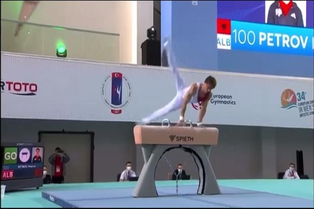 Matvei Petrov, në Tokio 2020, përfaqëson Shqipërinë