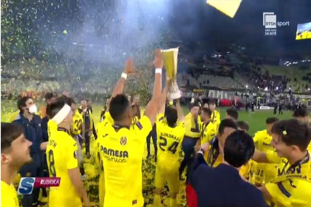 Villarreal, fitues i Ligës së Europës