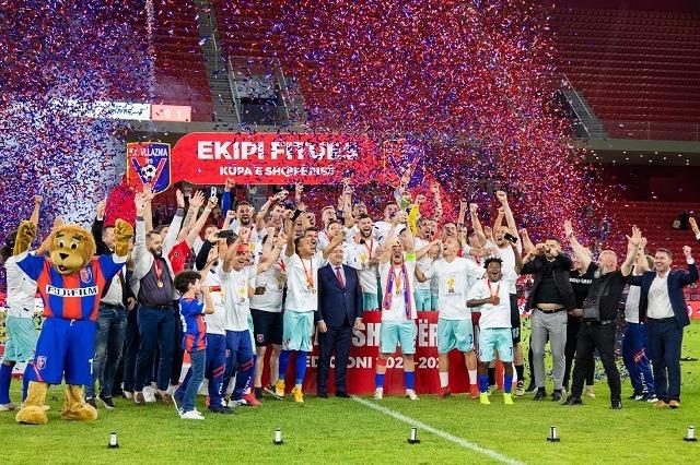 Vllaznia, fituese e Kupës së Shqipërisë
