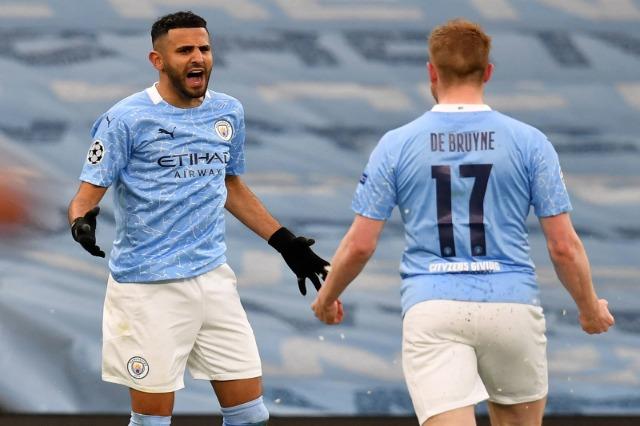 Manchester City, në finale të Champions: vendos Mahrez