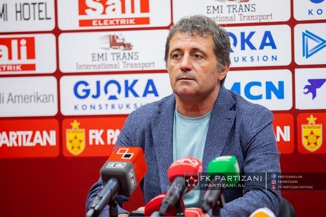 """Partizani, Daja """"harron"""" derbin: Mendojmë vetëm për Skënderbeun"""
