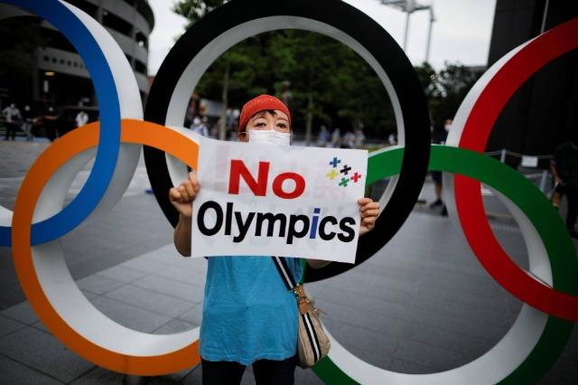 Japonezët, kundër Lojërave Olimpike