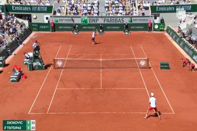 Roland Garros: triumfon Xhokoviç, Tsitsipas përmbyset