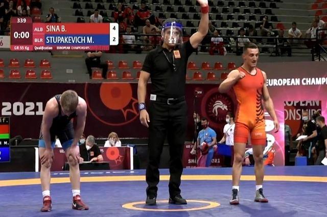 Bajram Sina, i bronzti i mundjes shqiptare