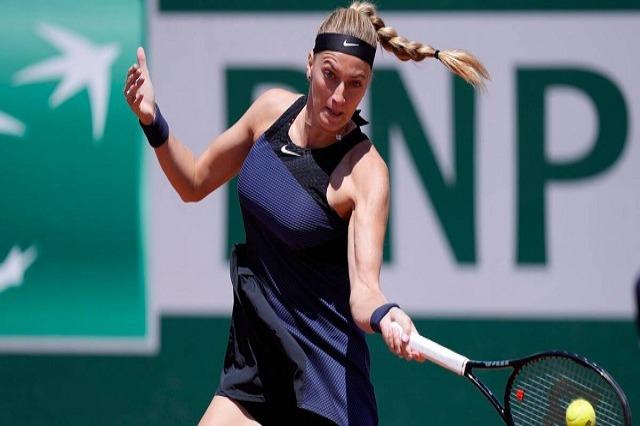 Petra Kvitova tërhiqet nga Roland Garros