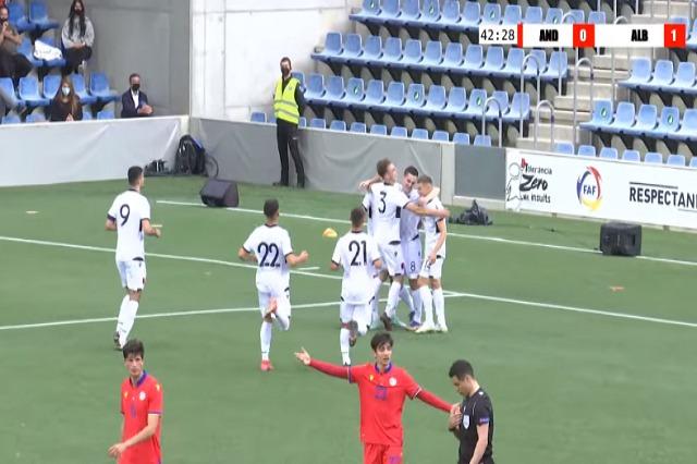 Euro 2023: Kombëtarja U21 e nis me këmbën e mbarë