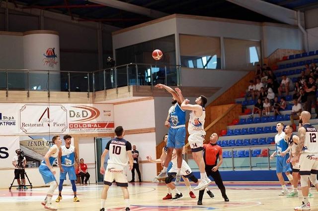 Basketboll Meshkuj/Teuta, Kampione mes tensionesh