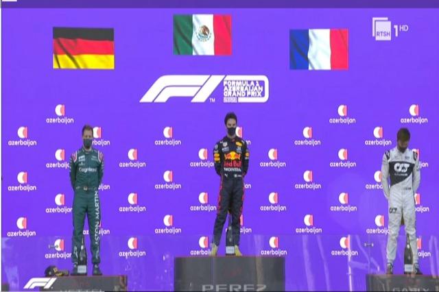 F1: Perez fiton në Baku, në një garë të çmendur