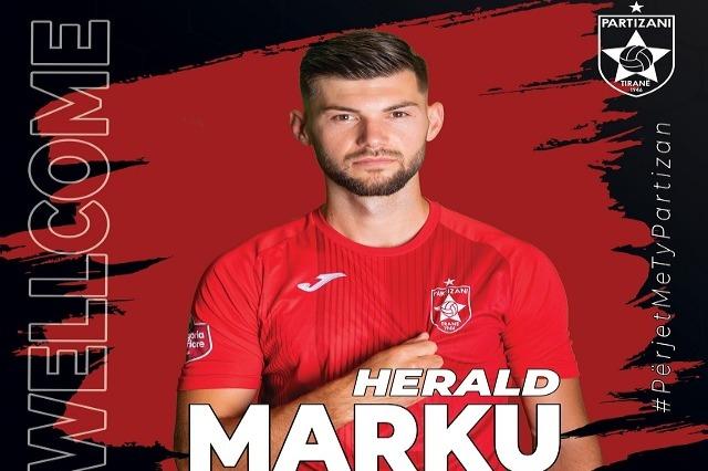 Partizani, zyrtare: rinovon Bardhi, firmos Marku