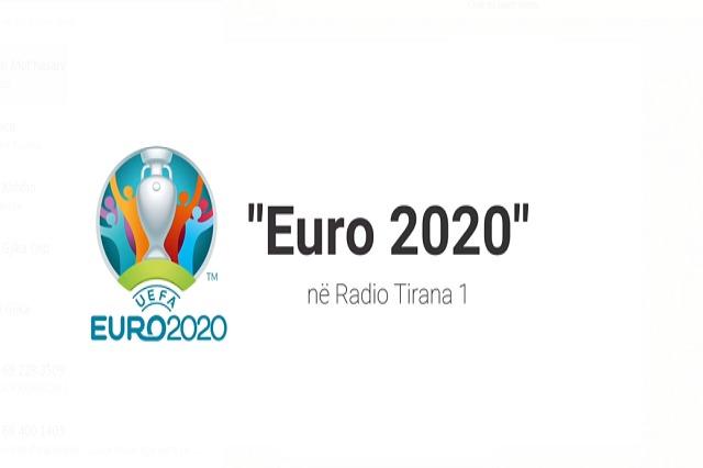 Euro 2020, edhe në Radio Tirana 1