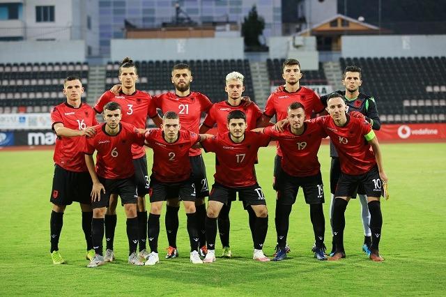 Shqipëria U21, pesë mungesa ndaj Andorrës