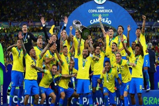 Brazili rrezikon Kupën e Amerikës