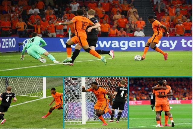 Hollanda nuk gabon, mund Austrinë dhe kualifikohet