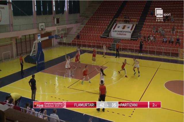 Basketboll Femra/Flamurtari, kampion i padiskutueshëm
