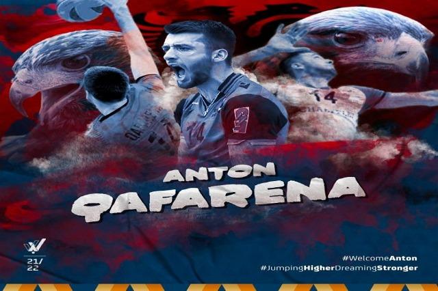 Anton Qafarena, tek Verona Volej