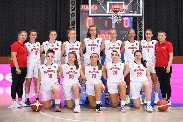 Basketboll Femra/Shqipëria U20 e mbyll me fitore Europianin