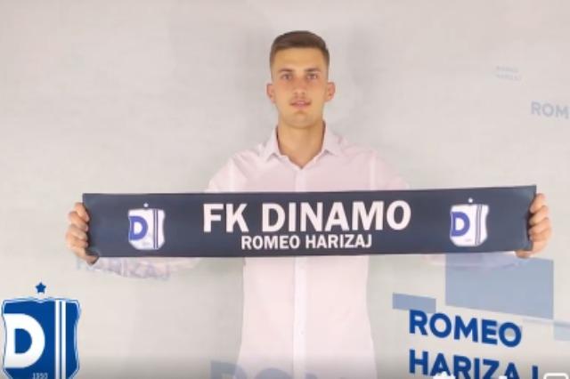 Dinamo blindon portën, firmos me Romeo Harizajn