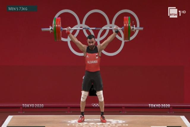 Briken Calja, një kilogram larg medaljes