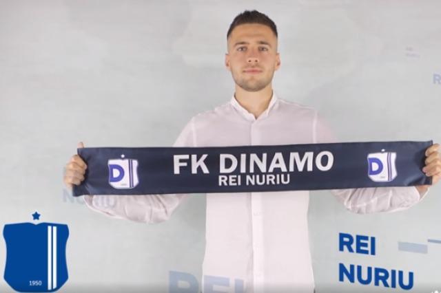 Dinamo zyrtarizon ish-mesfushorin e Skënderbeut