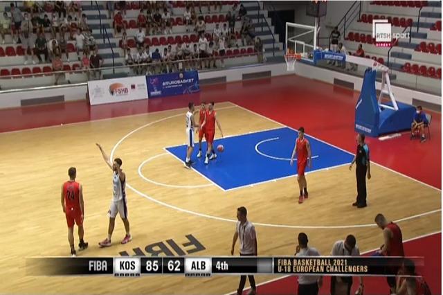 Kosova, leksion basketbolli për kuqezinjtë