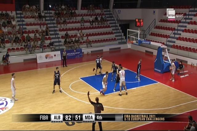 Shqipëria U18, fitore bindëse