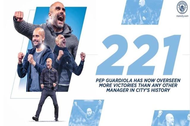 Guardiola, trajneri me më shumë fitore në historinë e Sitit
