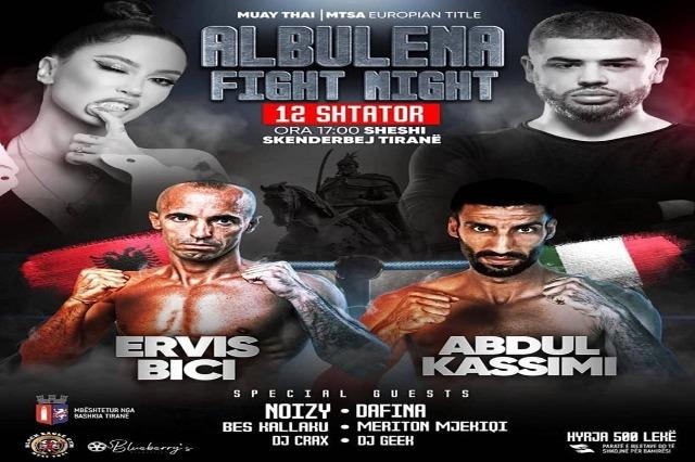 """""""Albulena Fight Night"""", të dielën në RTSH Sport"""