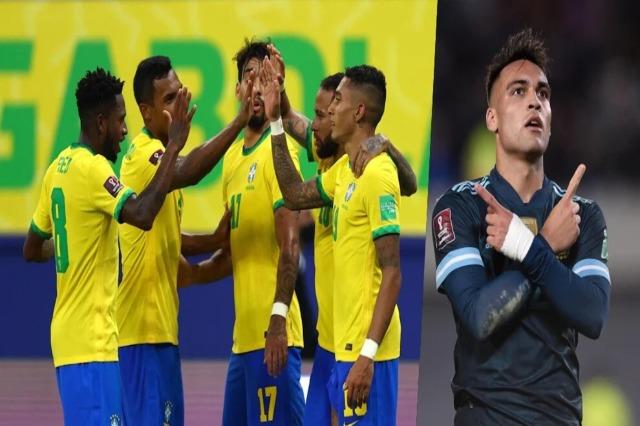 Brazilit shkatërron Uruguajin, Lautaro tërheq Argjentinën